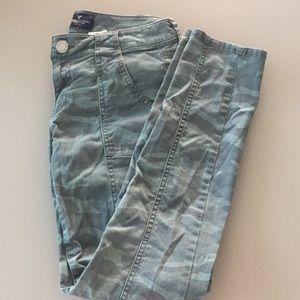American Eagle Camo Skinny Jeans